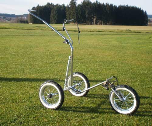 bagger vance inox r3 trolley trolleys golfschl ger made in germany. Black Bedroom Furniture Sets. Home Design Ideas