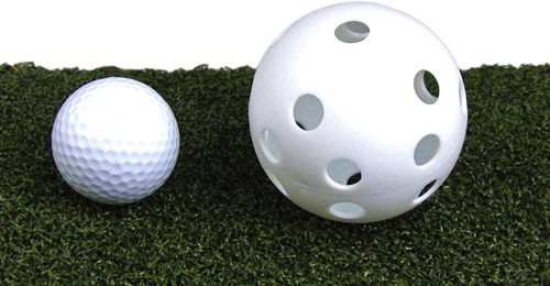 Golf Trainingsball, Luftball