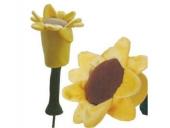 Schlägerhaube Sonnenblume