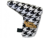 Putterhaube Loudmouth black-white