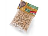 Echte Bambus-Tees, extrem haltbar, 100% biologisch