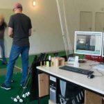 Golfschwung Golflehrer