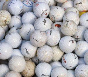 Lakeball gebrauchter Golfball