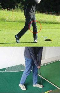 Golfschwung einfach